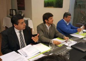 Sebastián Gobellina, Ricardo Sosa y Carlos Oehler