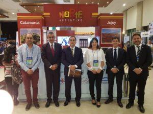 con el embajador argentino en Bolivia