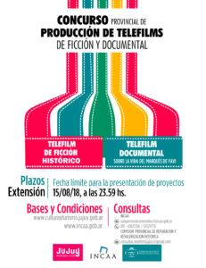 Flyer - Concursos de Telefilms