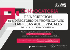 FLYR - REINSCRIPCION PRODUCTORAS AUDIOVISUALES OPC2