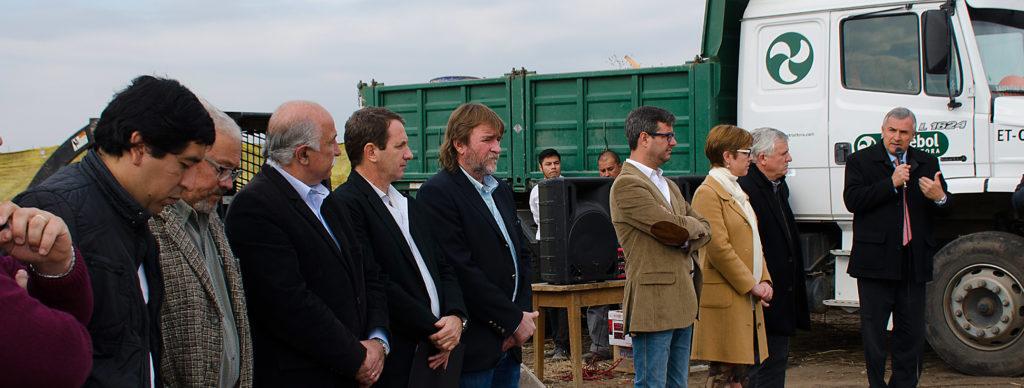 El Gobernador Gerardo Morales en acto inicio de obras de Alto Comedero.