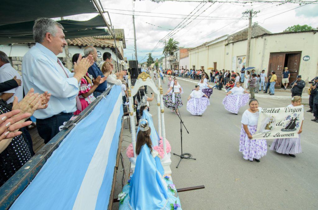 GM El Gobernador Morales participó de las Fiestas Patronales en San Antonio